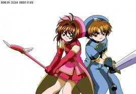 Sakura and Syaoran..   They both Main Characters  <Cardcaptor Sakura>