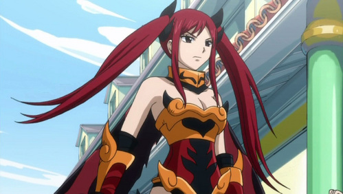 Erza Scarlet from Fairy Tail (: