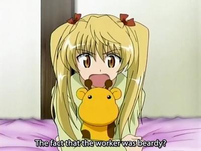 Eri has yellow hair :)