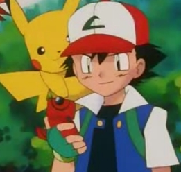 Satoshi-kun/Ash from Pokemon wearing one of his many Hat/Caps!^^