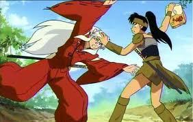 Inuyasha Episode 99. Koga and Sesshomaru: a dangerous encounter!!!!!!!