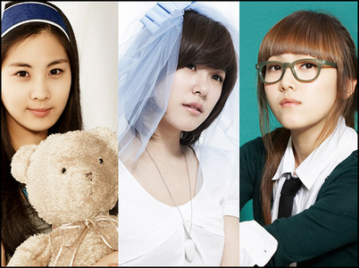for me Seo Fany n Sica is the prettier..^^