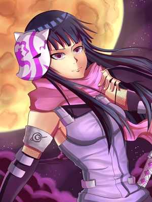 I guess I'm late .__. Even so, here's a fanart of Hinata I drew. ^^