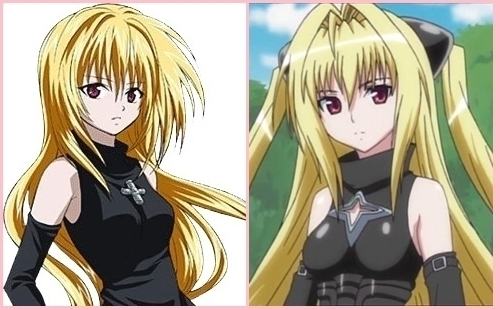 Eve (Black Cat) and Yami (To Amore Ru)i always and still think theyre so alike like twins but i know thats not possible cause theyre in different Anime