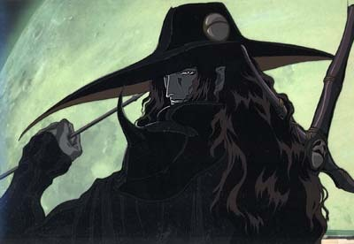 The 1st anime? I think it was Vampire Hunter D (The first one that came out in the 80's)