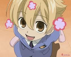 Okay! I choose Ouran! And my character is Honey-senpai!
