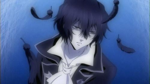 Gilbert aka Raven from pandora hearts