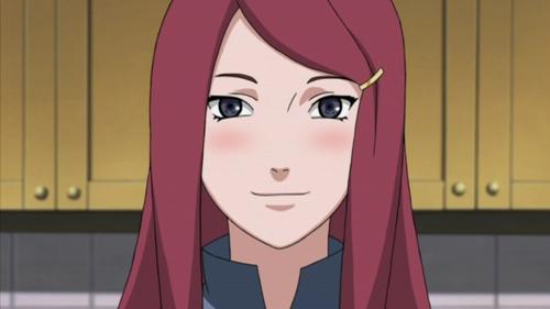 Kushina from Naruto.