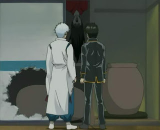 Gintoki and Hijikata from Gintama