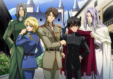 Im watching Kyo Kara Maoh. Its awesome,great characters, story line.