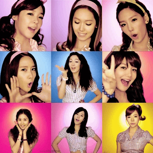 Jessica: sleeping 12 hours. :) Taeyeon: short sited. Seo Hyun: we both think guys are gross :P Soo Young: makes up nicknames for people. Hyoyeon: stage fright and cant be funny Yuri: slapping habit. :D Yoona: Loves rollercoster rides! Tiffany: we both hate to loose Sunny: we both hate milk.
