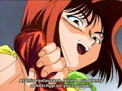 Let me think..an Anime character that I think has a cool personality..hmm to me that has to be Anzu-chan from SEASON 0 of Yu-Gi-Oh!,she's a lot più tomboy=ish here compared to her in the English dub and the Duel Monsters version of her.