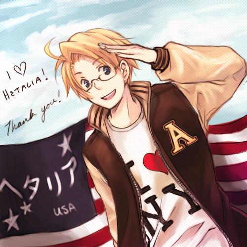 i cant choose between ikuto and america :3