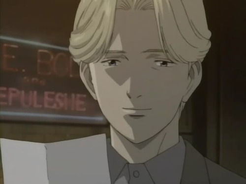 Johan liebert from MONSTER. hes the best to practice with!