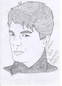 Jack Harkness, i drew it after i watched 2 または 3 episodes of torchwood with my dad