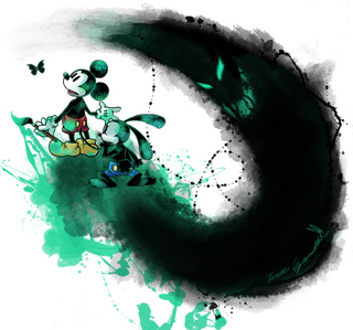 mickey and oswald :D