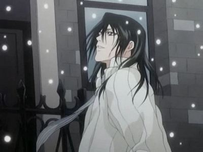 Mine is... Byakuya from Bleach!!!! I Amore him!!!! Don't you?