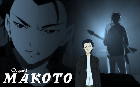 My current crush is... Oogami Makoto from Ghost Hound!!!