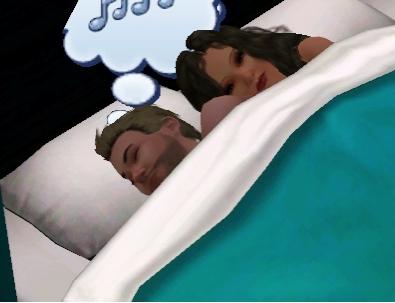 Me and My bf Keith sleeping :3