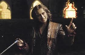 Mine is also a character from Once Upon A Time. Rumpelstiltskin/ Mr. ゴールド :D