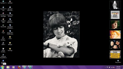 Georgie!!! <33 (Yes, I know it's not David. Suprised??)