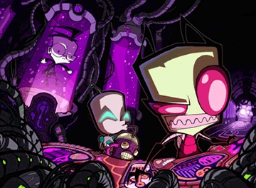Invader Zim, Teen Titans, and Transformers Animated