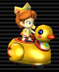 how to get daisy in mario kart wii
