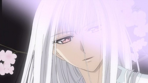 Shizuka Hio, an incredibly deadly and lethal pure blood vampire, from Vampire Knight.