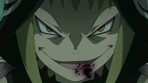 Yeah I got it, since you didn't like that one hows this? Medusa from Soul Eater :D