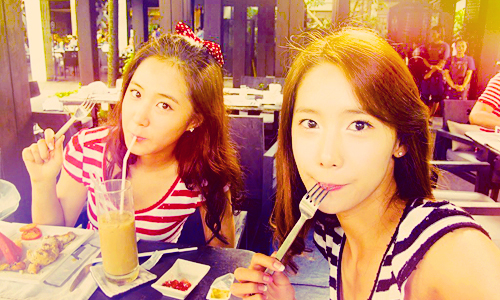 I love YuRi .. She is so cute !! ^^