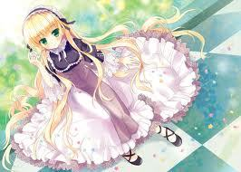 victorique from gosick!! i mean just look at her! :O