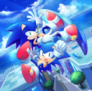 Honestly,I've only been a অনুরাগী for a year. But it felt like a long time. Sonic changed my life a lot. Keep running Sonic.