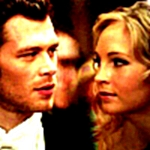 Klaus & Caroline he shows his humanity around her <3