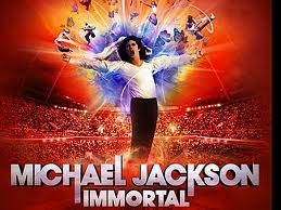 My dad bought me a poster of michael,book about him,Movies,cartoons,michael jackson t-shirt,and music video.And for christmas I got his new cd called Immtoral.