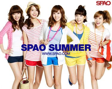 1. Sunny 2. Taeyeon 3. Jessica 4. Tiffany 5. Yoona