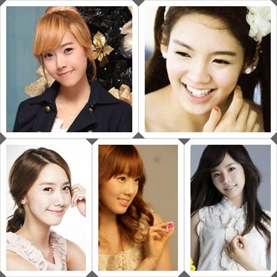 For me: 1. Jessica 2. Hyoyeon 3. Yoona 4. Taeyeon 5. Sunny