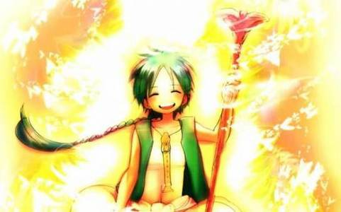 I want Magi Манга to be an Аниме but its subjected to many Яой Фан art which I'm scared will increase if made an Аниме ;__;