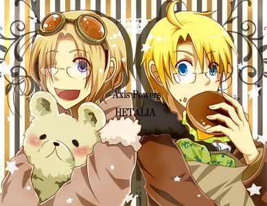 Hetalia! They need to make a 5th season of that & then continue making mais seasons!