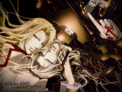 How about sexy vampire brothers?!!! Cain & Able from Trinity Blood. Way hot!!