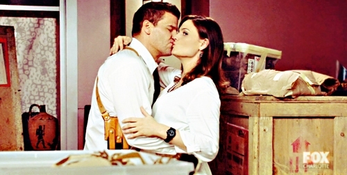 My OTP is Booth & Brennan and they're stll on Tv :) <3
