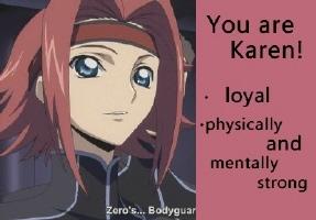 I got Karen!!♥
