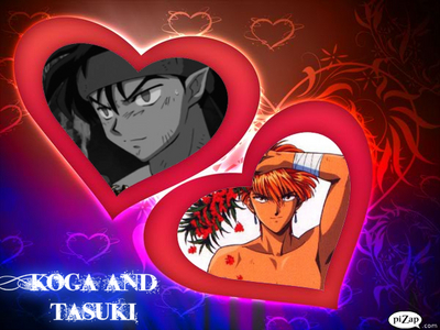 Koga and Tasuki!!!!! :D (but I pick koga)