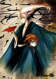 Rorouni kenshin или Nurarihyon no mago. Both are pretty good.