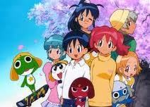 Giroro from SGT.Frog... The red one tehehee