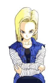 Android 18...or rachel from case closed; some scary !@#$ right there.