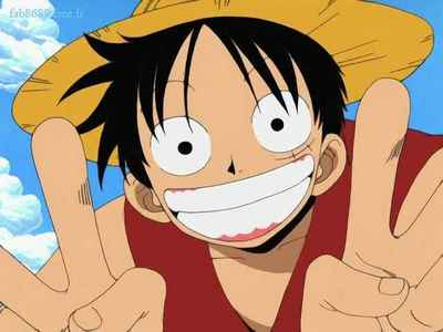 Monkey D. Luffy's voice Don't get me wrong. I like One Piece, and I like Luffy as a character. However, there are times when Luffy's voice makes me want to tear my hair out (and I'm referring to ALL his voices: his japanese voice, his 4Kids voice, and his Funimation voice).