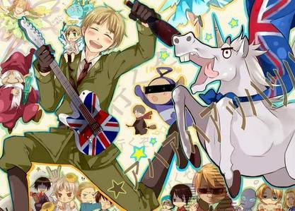 No...I'm actually American but my Избранное character is England. Well..actually i looked up my descent and i am part English ...DX well...yes.XD yes nationality affects itX3