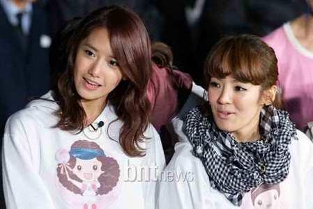 Group one: Hyoyeon Group two: Yoona