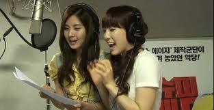 Taeyeon and Seohyun