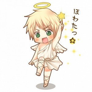 sure, it is him as an ANGEL!